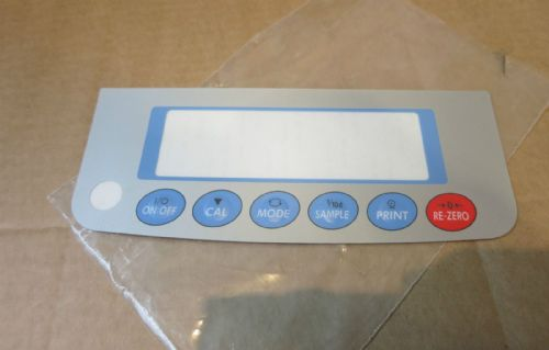 A&D Weighing Precision Balance Internal Calibration FZ-200i Screen Sticker